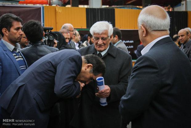 تشییع پیکر دکتر یلدا