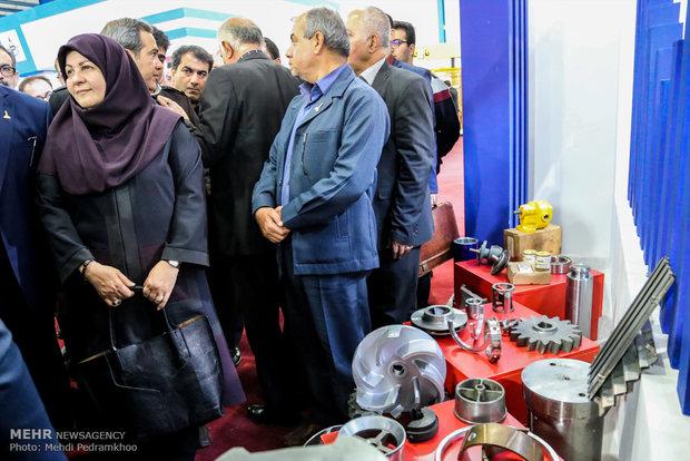 آغاز به کار پانزدهمین نمایشگاه صنعت حفاری در خوزستان