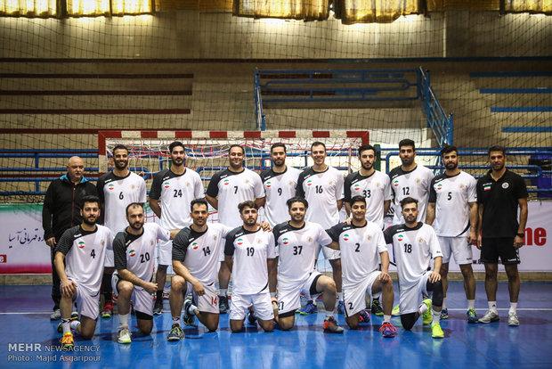 Image result for اسامی 18 بازیکن تیم ملی هندبال ایران در جام ملتهای آسیا