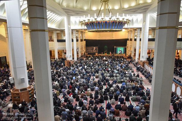 مراسم یادبود آیت الله حائری شیرازی در شیراز