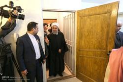 دیدار حسن روحانی رئیس جمهور با خانواده شهید ادوین شاهمیریان
