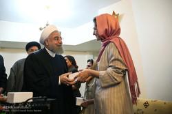 Ruhani'den Hıristiyan şehid ailesine ziyaret