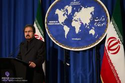 نشست سخنگوی وزارت خارجه