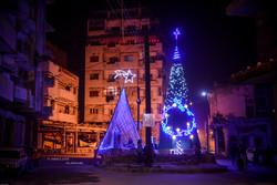 سوريا تحتفل من جديد بولادة المسيح (ع)  بعد انتصارها على الارهاب/صور