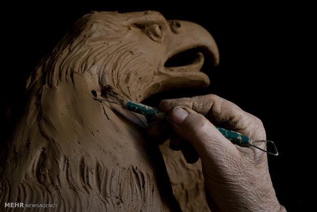 کارگاه مجسمه سازی در یونان