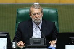 لاريجاني: أميركا أحقر من أن تتعاطف مع الشعب الإيراني بمكر وخداع
