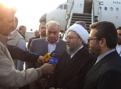 آملی لاریجانی در کرمانشاه