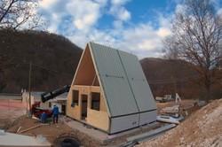 این خانه در ۶ ساعت ساخته می شود