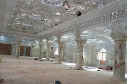 افتتاح بخش زیارتی صحن حضرت زهرا تا پایان تابستان/استفاده از کالای ایرانی در ساخت صحن