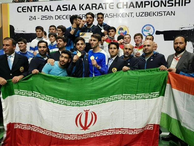 Iranian karateka win title at Asian event