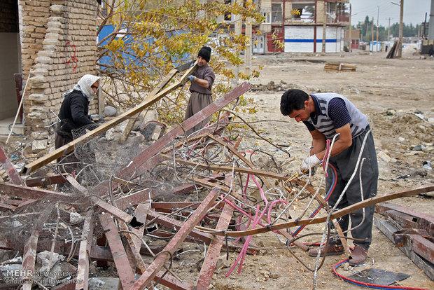 ۲۸ هزار و ۶۵۶ واحد تخریبی در مناطق زلزله زده آواربرداری شد