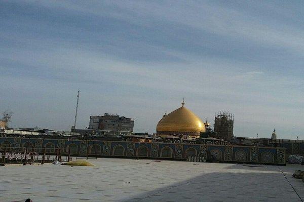 صحن حضرت زهرا حرم امام علی