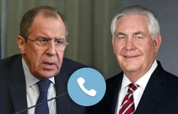 Lavrov, Tillerson discuss Syrian Natl. Dialogue Congress