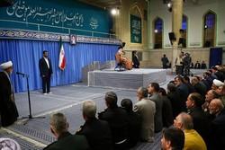 قائد الثورة يستقبل اعضاء المجلس التنسيقي للاعلام الاسلامي