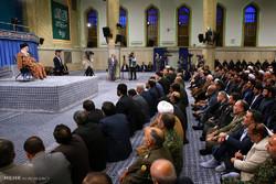 İnkılap Rehberi'nin İslami Tanıtım Konseyi üyeleriyle görüşmesi