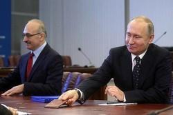 ثبت نام پوتین در انتخابات