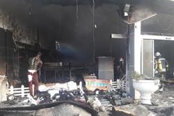 تعداد مصدومان آتش سوزی فروشگاه پوشاک رشت به ۸ نفر افزایش یافت