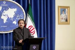 Foreign Ministry spokesman Bahram Qassemi