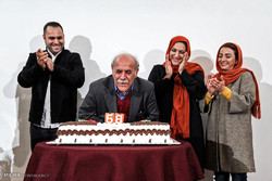 Iranian calligrapher honored for 68th birthday
