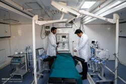 آغاز به کار بیمارستان تخصصی سیار رضوی در مسیر نجف به کربلا