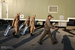 بازدید فرمانده کل ارتش از بیمارستان صحرایی نزاجا