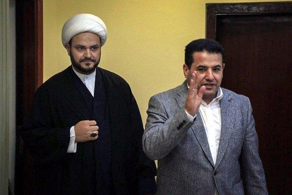أكرم الكعبي يلتقي وزير الداخلية العراقي متناولاً موضوع الامن القومي