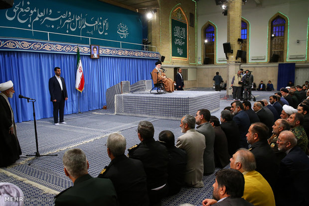 Leader receives members of Islamic Development Coordinating Council