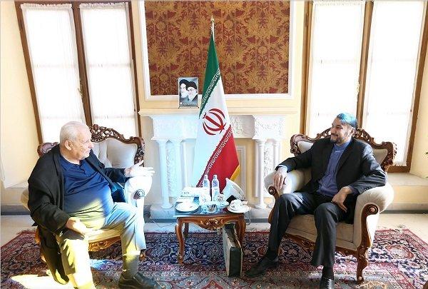 Amir-Abdollahian receives Palestinian ambassador to Tehran