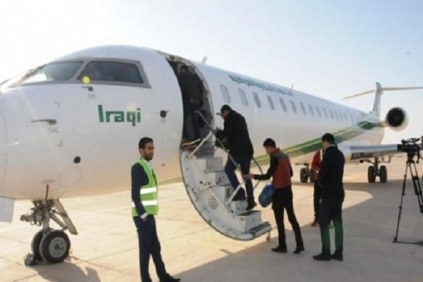 تدشين خط طيران بين مدينة مشهد ومطار الناصرية الدولي