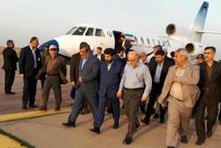 وزیر نفت وارد فرودگاه نفت گچساران شد