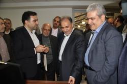نجفی و ستاری در دانشگاه شریف