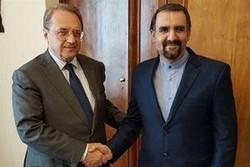 ماسکو میں ایرانی سفیر کی روس کے نائب وزیر خارجہ سے ملاقات