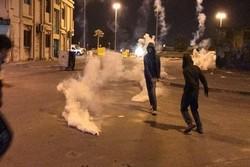 فلم/ بحرین میں عالمی یوم قدس پر مظاہرین اور آل خلیفہ فورسز کے درمیان جھڑپیں