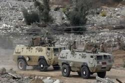 مقتل 6 جنود بينهم ضباط اثر انفجار عبوة ناسفة في سيناء