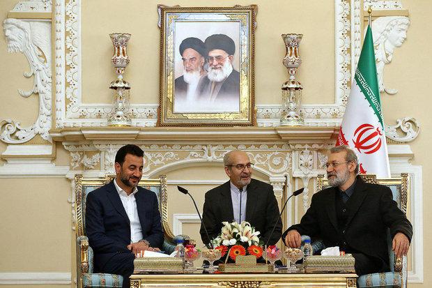 لاريجاني: العراق تجاوز الأزمات الأمنية