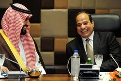 محمد بن سلمان و السیسی دیدار کردند