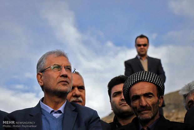 سفر وزیر تعاون کار و رفاه اجتماعی به کردستان