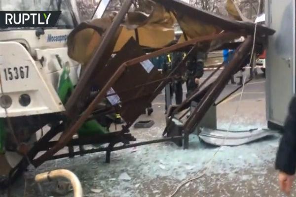 Moskova'da otobüs kazası: 3 kişi yaralandı