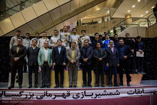 """بطولة إيران لرياضة """"مبارزة السلاح"""" للراشدسن في مدينة يزد"""