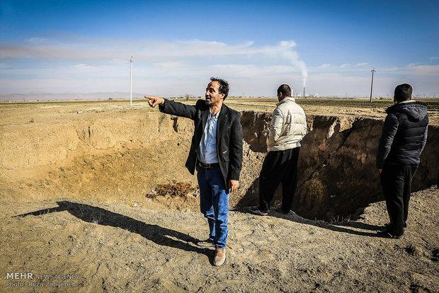 فروچاله های دشت کبودرآهنگ همدان