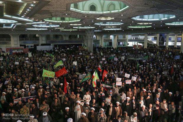 8th anniv. of pro-establishment rallies in Tehran
