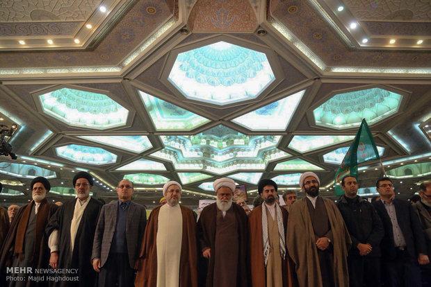 """مراسم إحياء ذكرى ملحمة """"9 دي"""" في مصلى طهران"""