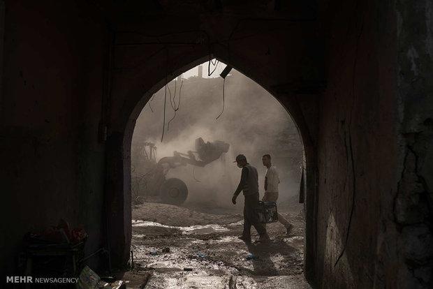 """ما تبقى من مدينة """"موصل"""" بعد تخلصها من وباء داعش"""