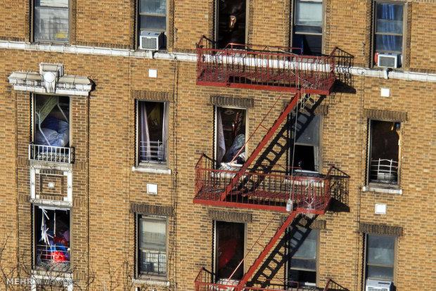 آتش سوزی مرگبار در نیویورک