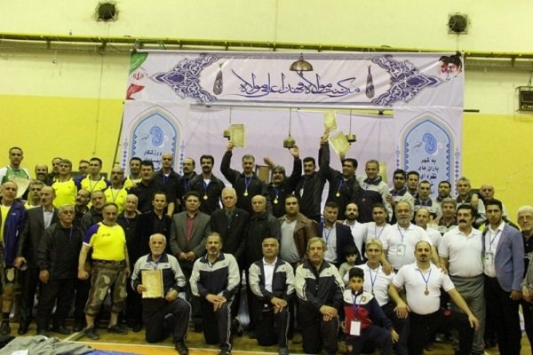 Image result for محمد حسینی در مسابقات زورخانه در رشت