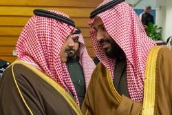 محمد بن سلمان و متعب بن عبدالله