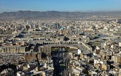 The metropolis of Mashhad in Khorasan Razavi province
