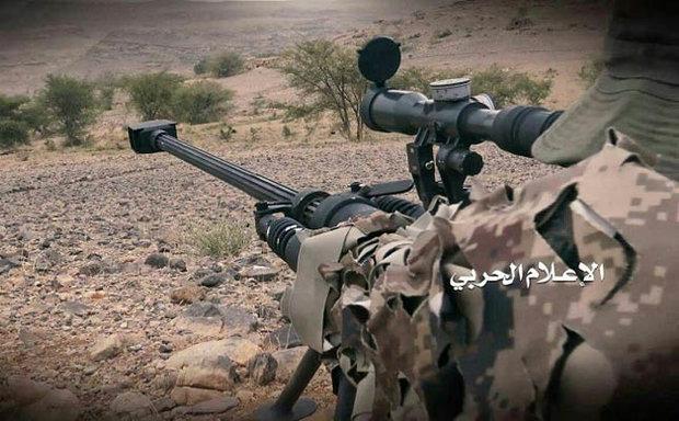 مقتل وإصابة المئات من مرتزقة العدوان السعودي برصاص القنص اليمني