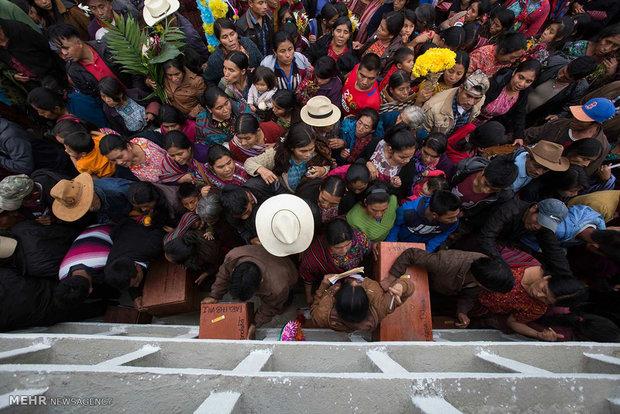تشییع کشته شدگان جنگ داخلی گواتمالا