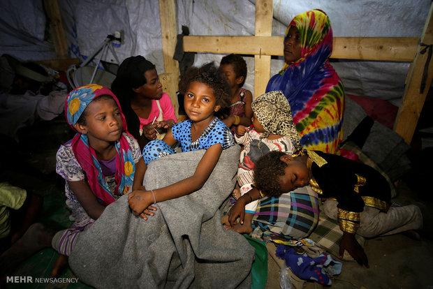 Yemen'deki felaketi gösteren üzücü görüntüler